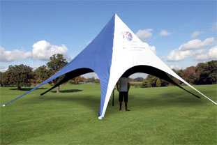 Star Tent ... & Marquees - Banner Marquees - Tents | Banners | Gazebos | Outdoor ...
